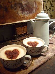 The Whippet Cappuccino a gift to Linden