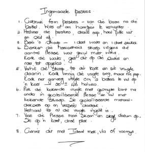 Jaco's Great Grand Mother's canned peaches recipe