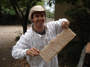 Linden's local Bee Keeper