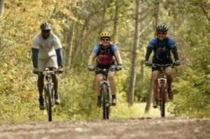 Linden -  a great place to mountain bike